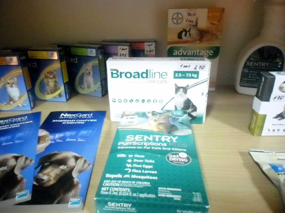 Ветеринарные препараты в нашей аптеке